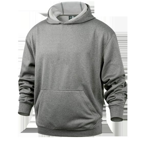 Hooded Sweatshirt w/Hidden Zipper Pocket